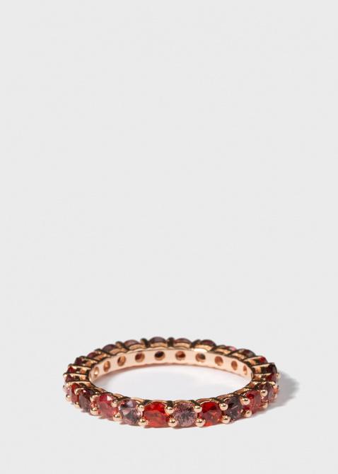 Кольцо Gemmis с дорожкой из сапфиров, фото
