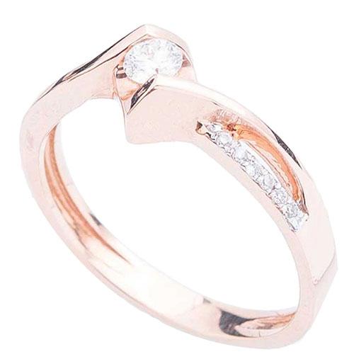 Женское кольцо Оникс с бриллиантами, фото