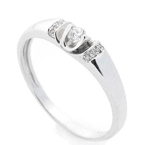 Женское золотое кольцо Оникс с белыми бриллиантами, фото