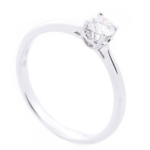 Кольцо из белого золота Оникс с бриллиантом белого цвета, фото