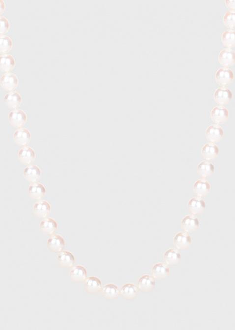 Жемчужное ожерелье Yamagiwa с бриллиантами, фото