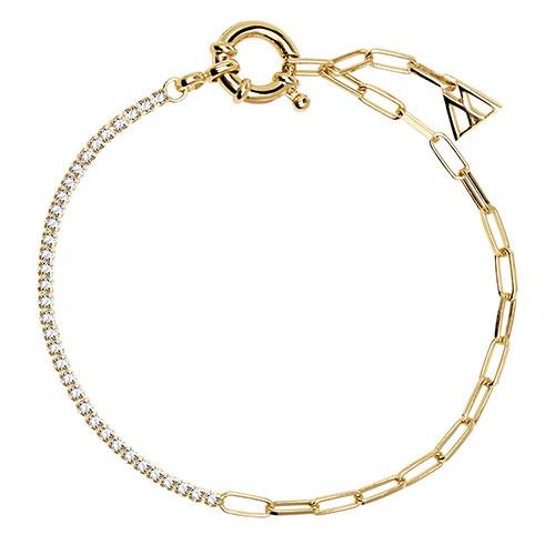 Тонкий браслет P D Paola Daze Mirage с цирконами, фото