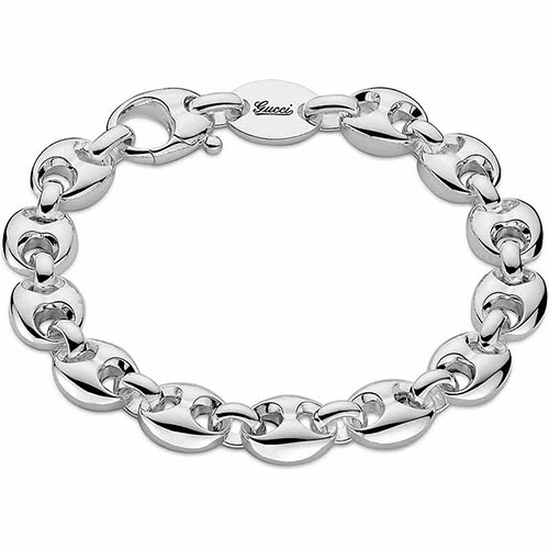 Серебряный браслет Gucci Marina Chain, фото