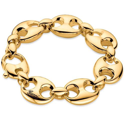 Браслет Gucci Marina Chain из желтого золота, фото