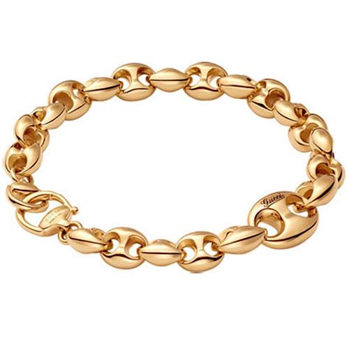 Браслет из желтого золота Gucci Marina Chain, фото