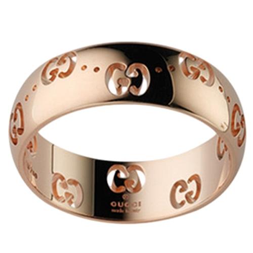 Обручальное кольцо Gucci  Icon из розового золота, фото