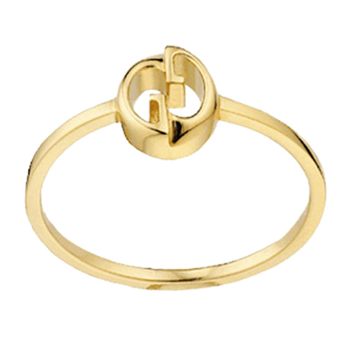 Тонкое кольцо Gucci 1973 из желтого золота, фото