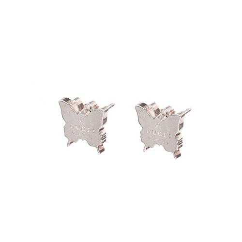 Серьги Gucci из серебра Trademark butterfly, фото