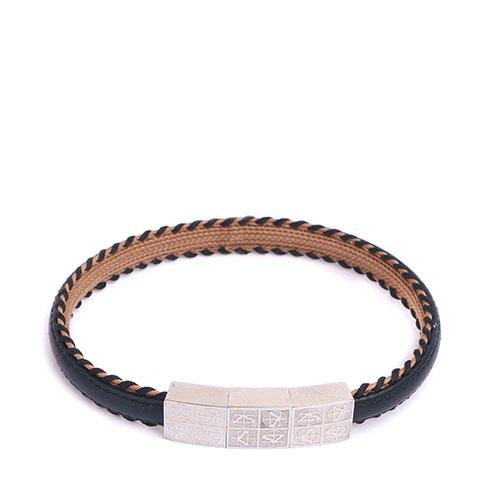 Мужской браслет Zeades из кожи, фото