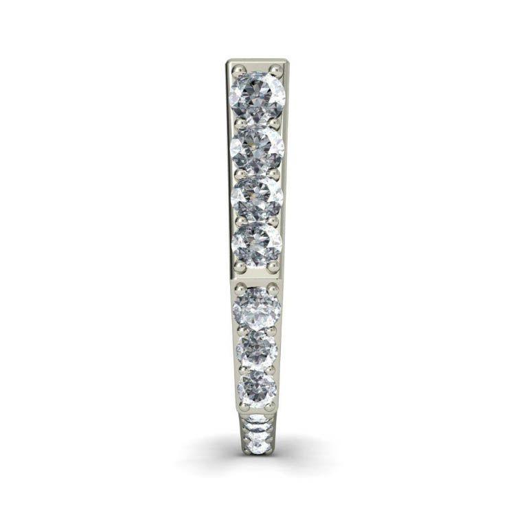 Серьги из белого золота Kiev Jewelry Dawn с бриллиантами 000726-1046400