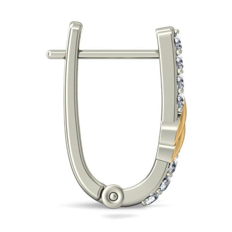 Серьги Kiev Jewelry Ayson с бриллиантами 000845-1046665