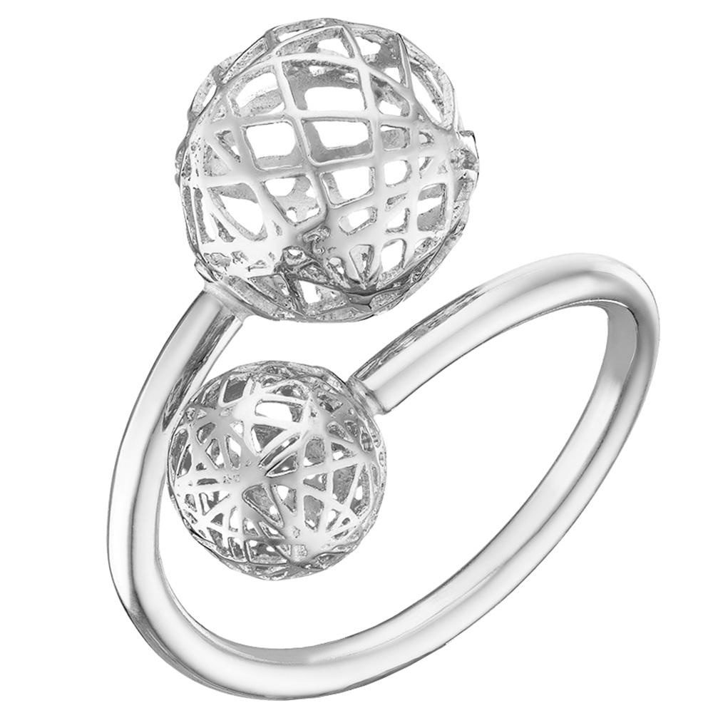 Кольцо из белого золота Sova Merezhyvo