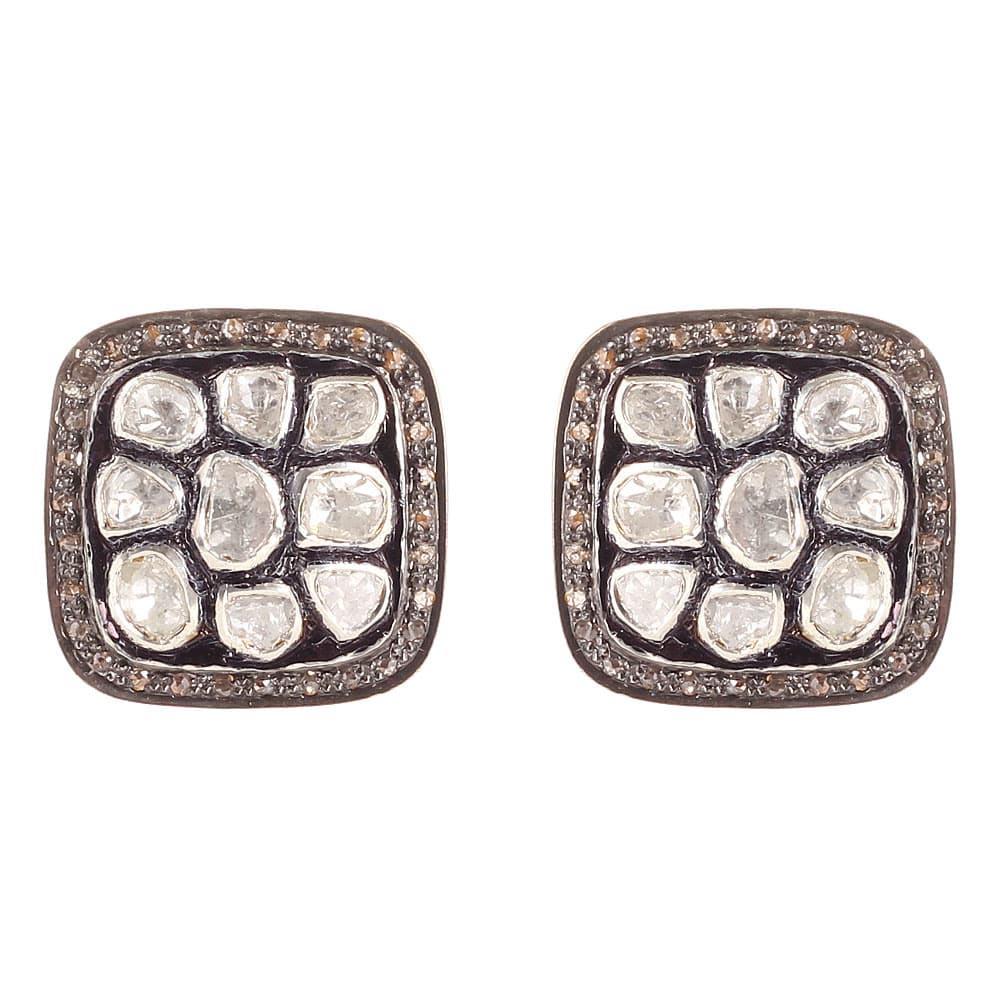 Серьги Gemme dOriente из серебра с бриллиантами