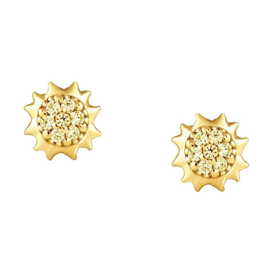 Серьги-гвоздики Nomination Gioieиз серебра с камнями