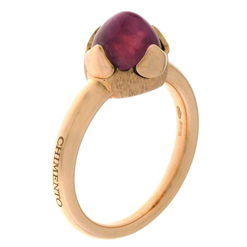 Золотое кольцо Chimento Happiness с турмалином