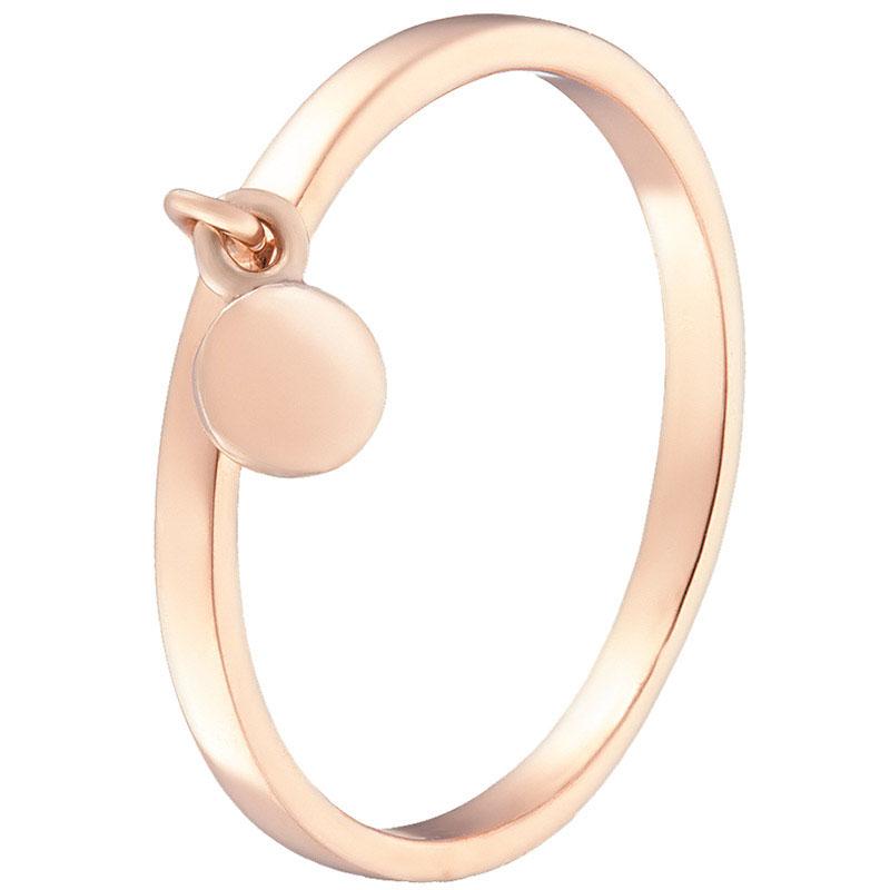 Кольцо из красного золота Sovissimo с подвеской 100289110102