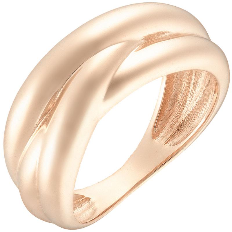 Кольцо Sovissimo из красного золота в виде плетения 109114910101