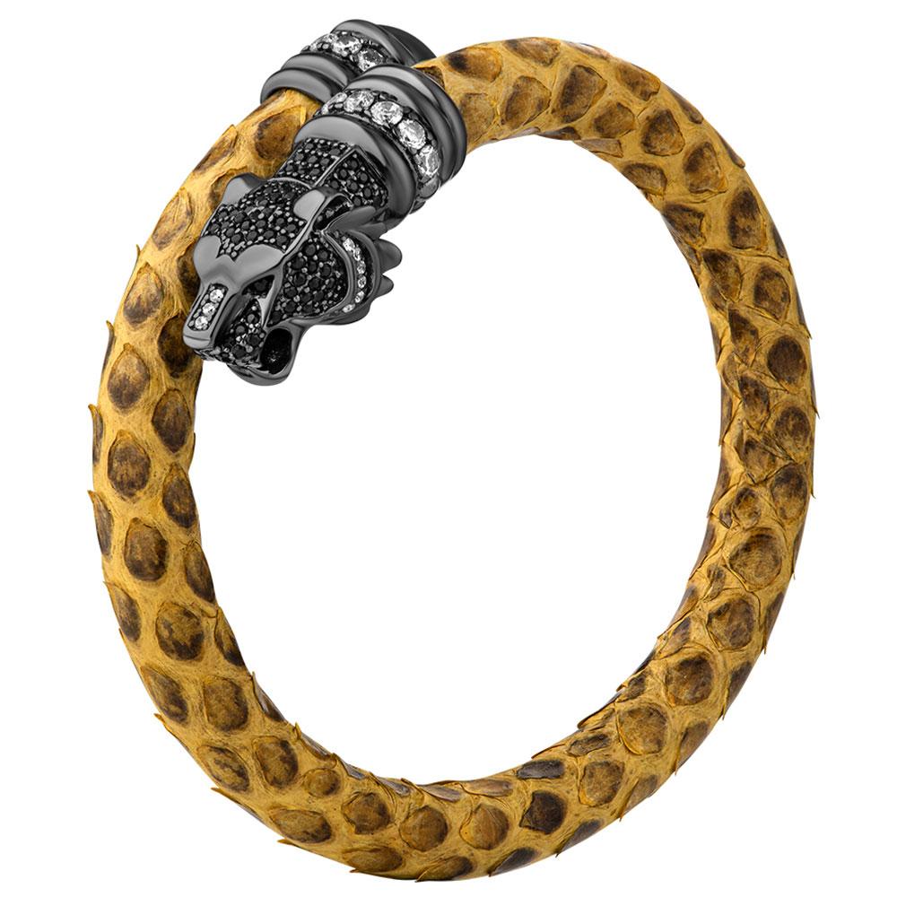 Браслет Poche Tiger с камнями циркония