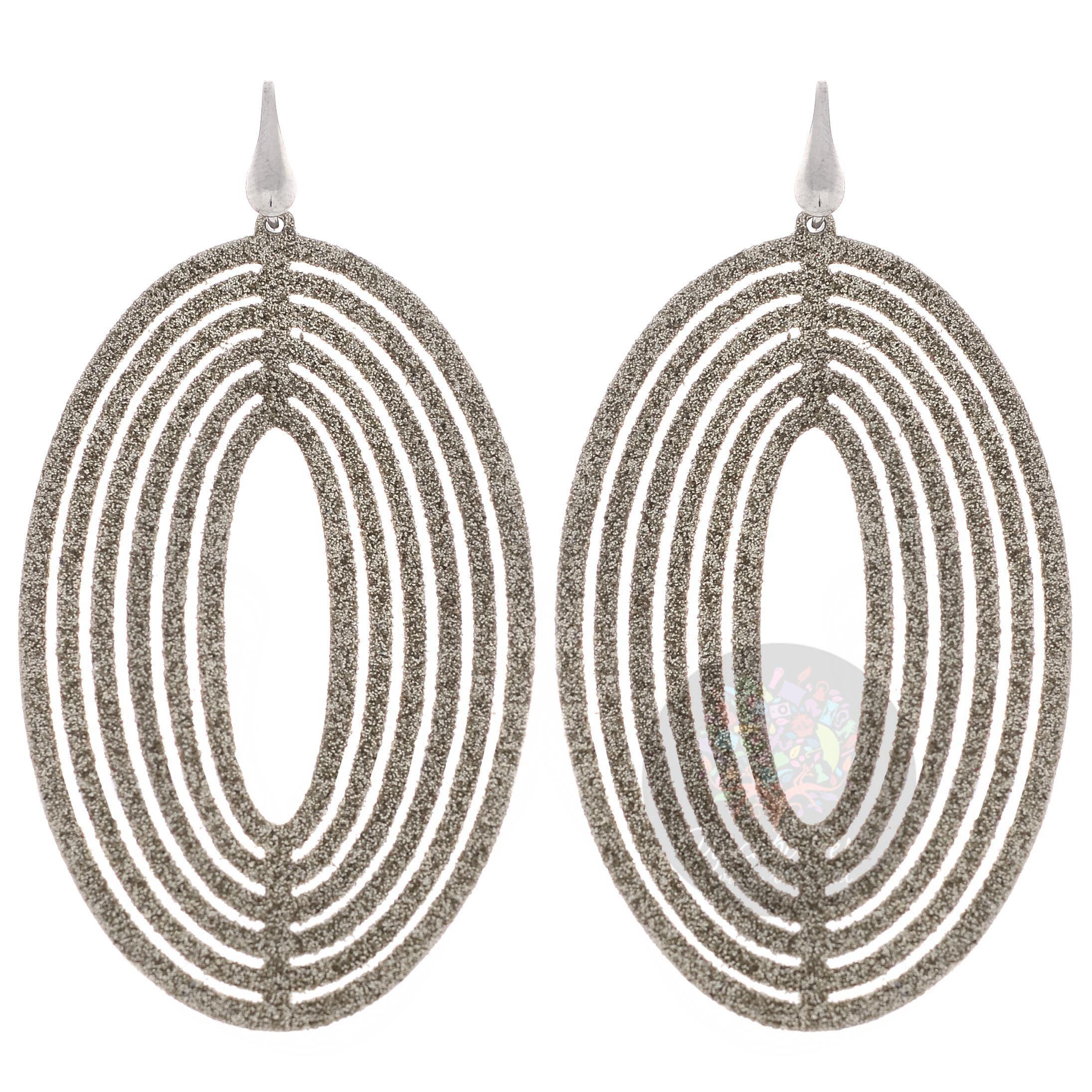 Серьги Misis серебряные крупные