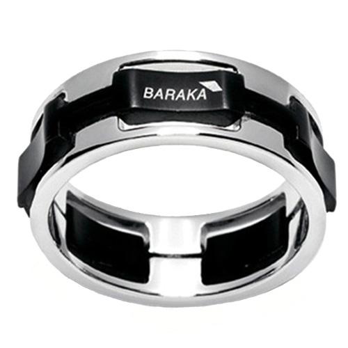 Широкое кольцо Baraka из золота