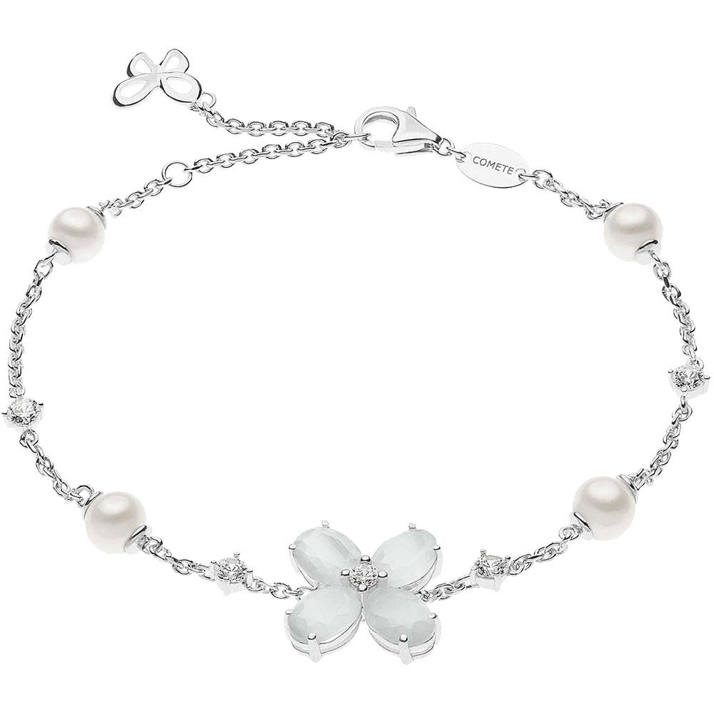 Браслет Comete Farfalle из серебра с декором-бабочкой