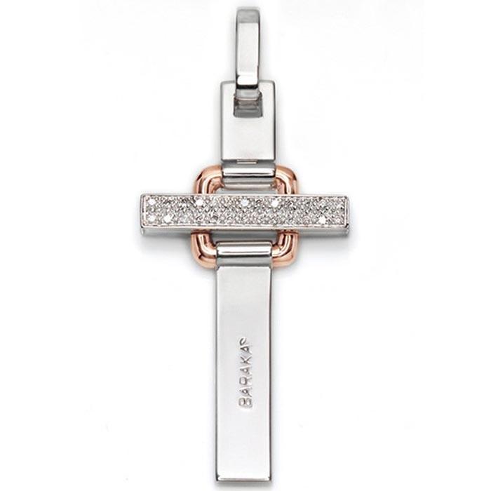 Крест-подвеска Baraka из золота с 26-ю бриллиантами