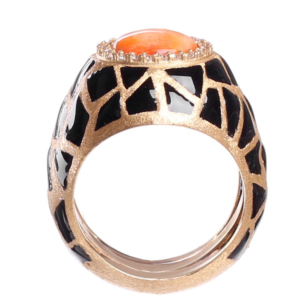 Женский перстень Misis Artemide с цирконами