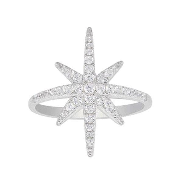 Кольцо с цирконами APM Monaco из серебра