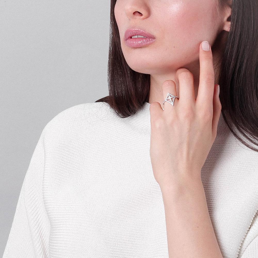 Женское кольцо APM Monaco с цирконами