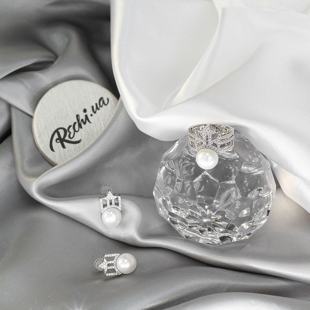 Кольцо APM Monaco Precieuse с белой жемчужиной
