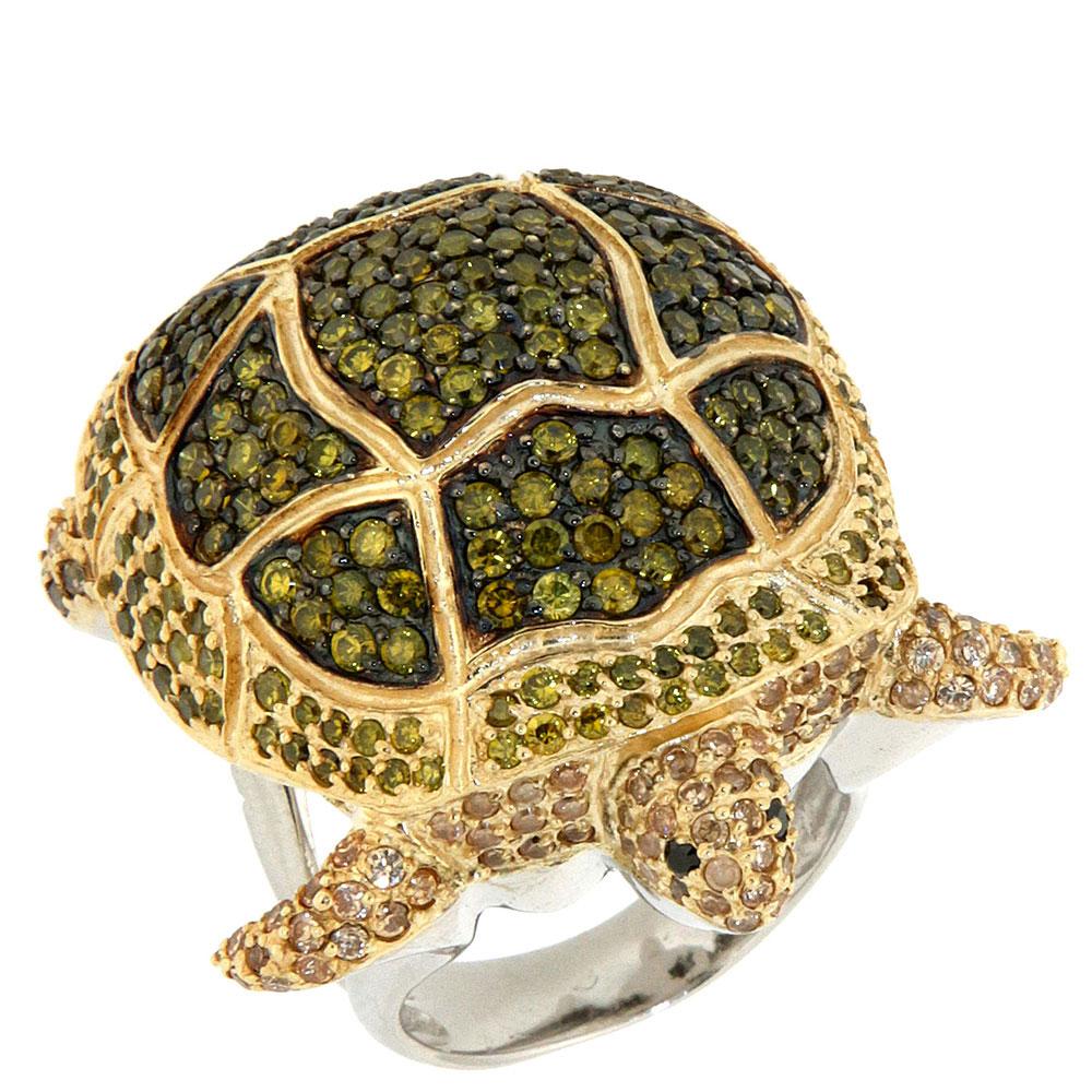 Кольцо Misis Deep Reef в форме черепахи
