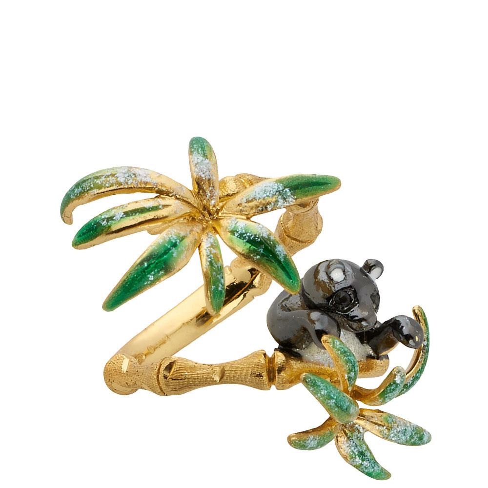Позолоченное кольцо Misis Shan-si с пандой