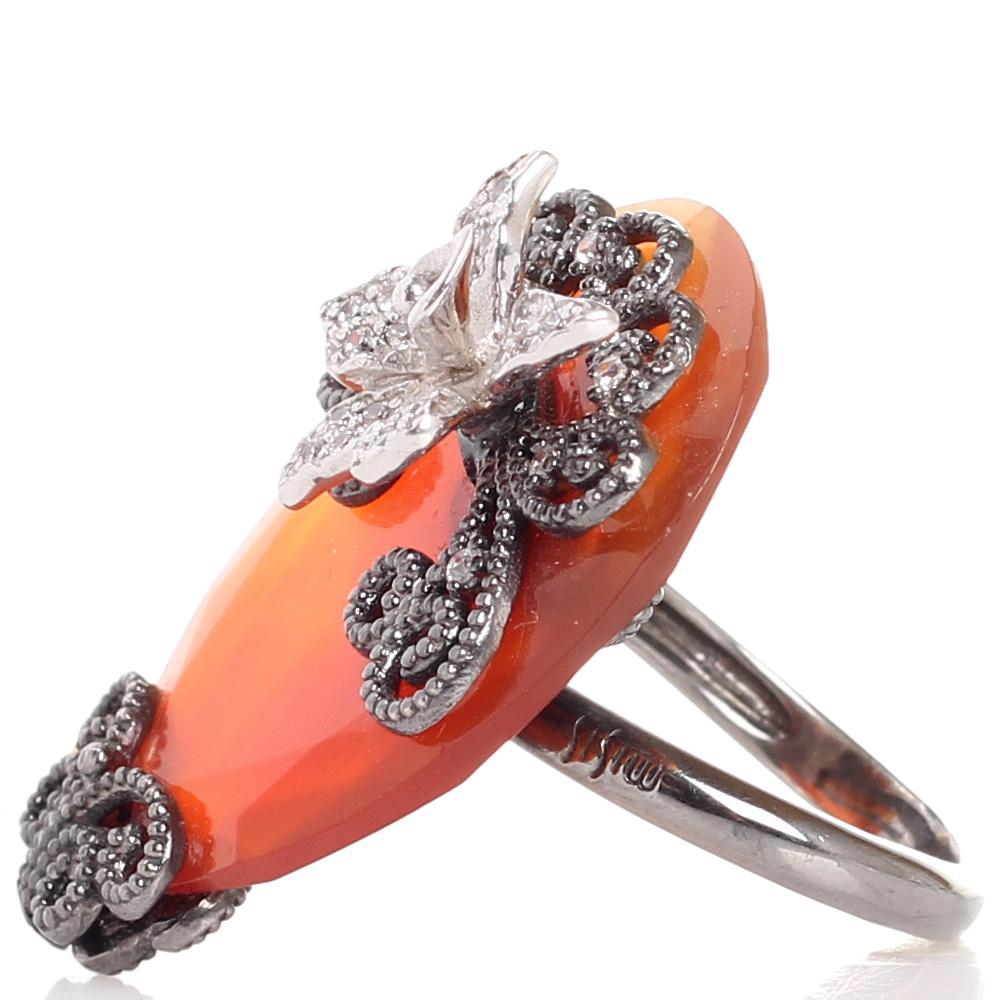 Кольцо Misis Minervia с крупным агатом
