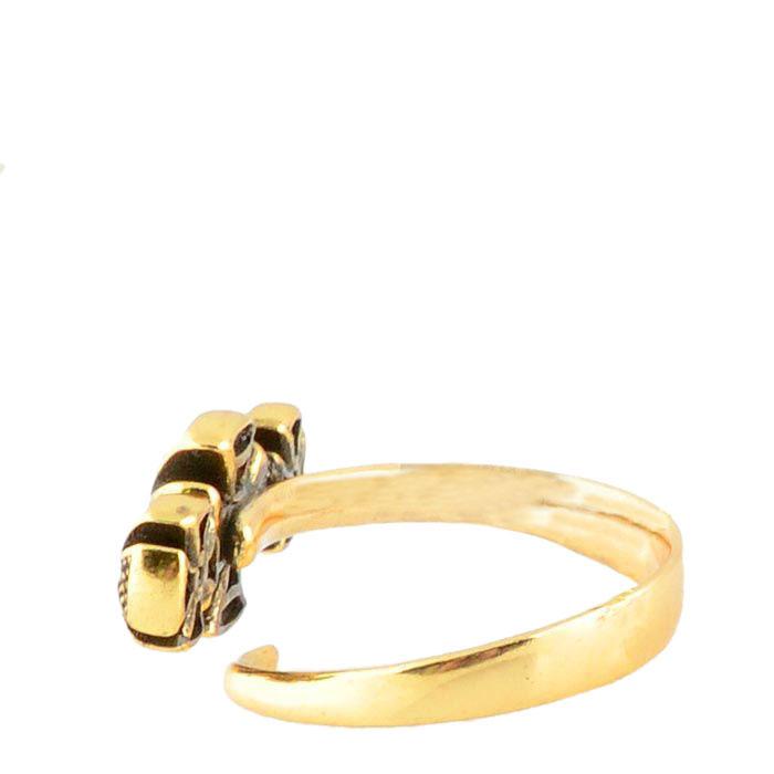 Женское кольцо Misis Artificialia с тремя мальтийскими крестами