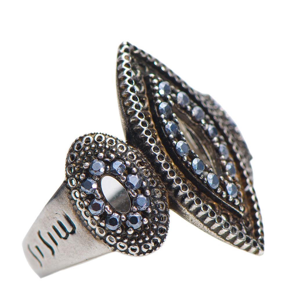 Серебряное кольцо Misis Bisanzio с топазом и фианитами