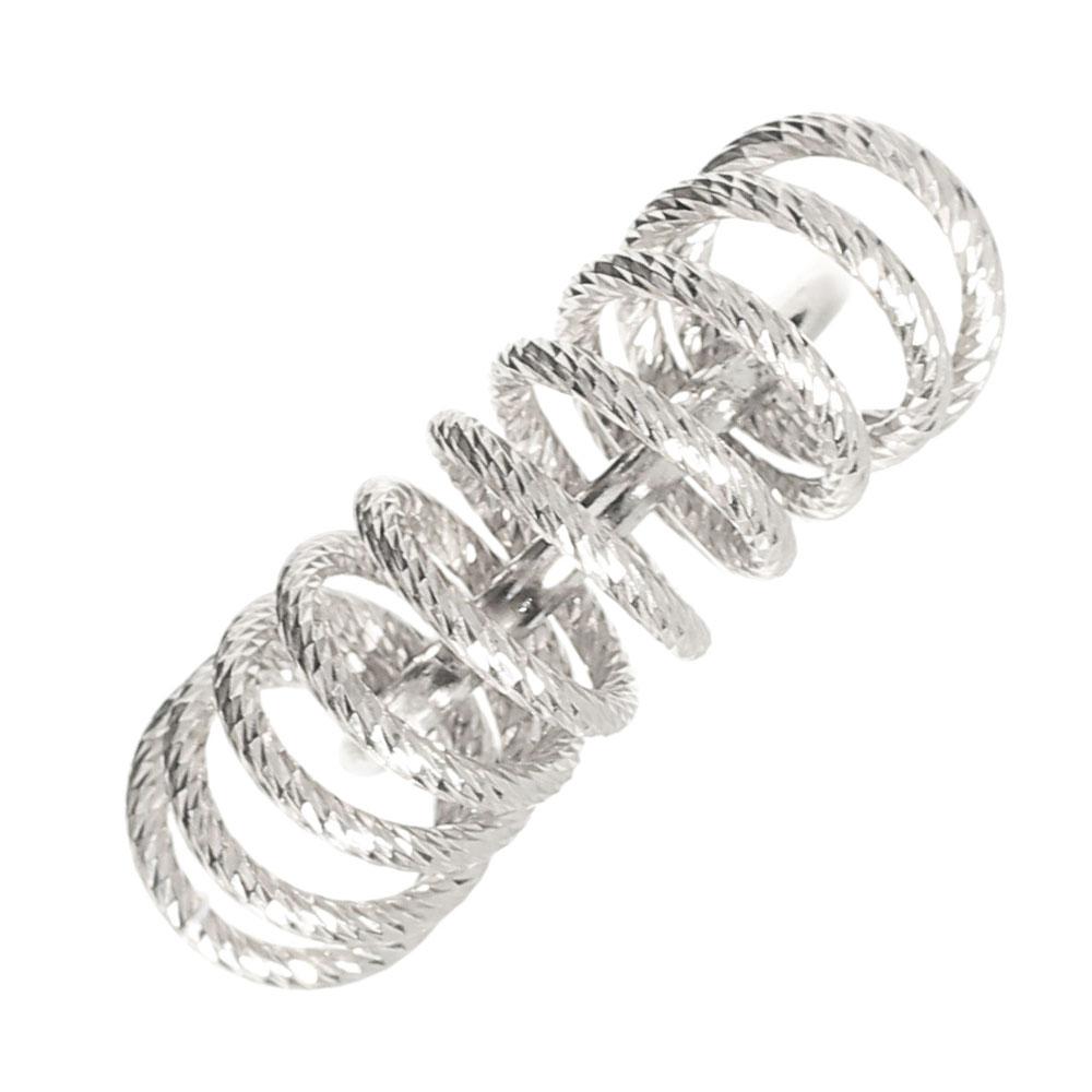 Серебряное кольцо Fraboso с декором-спиралью