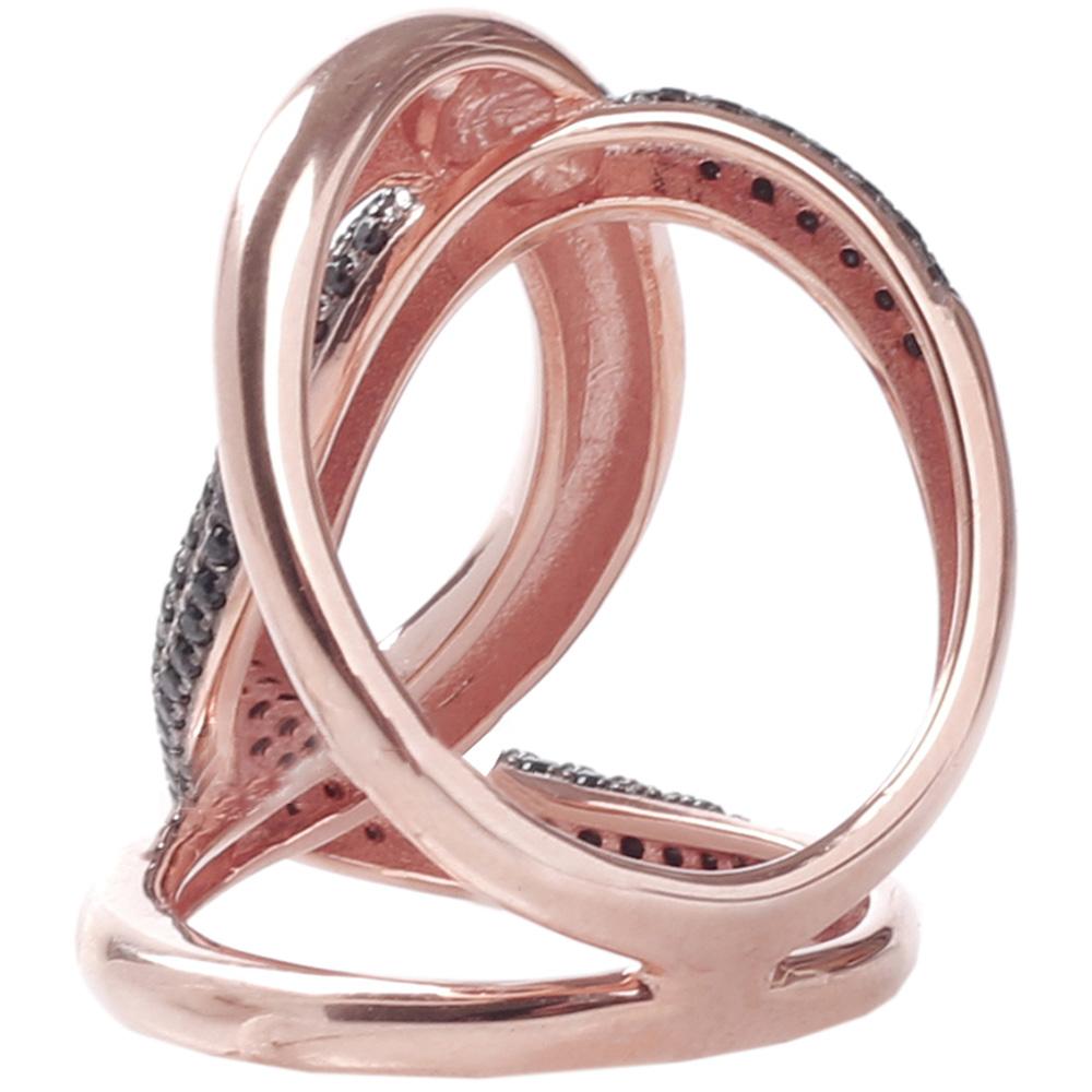 Серебряное кольцо Marcello Pane с позолотой