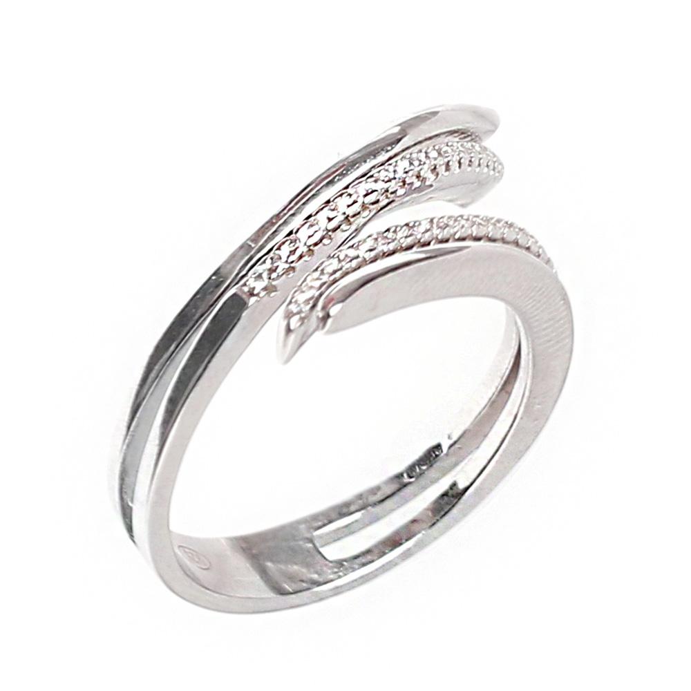 Серебряное кольцо Marcello Pane с цирконами