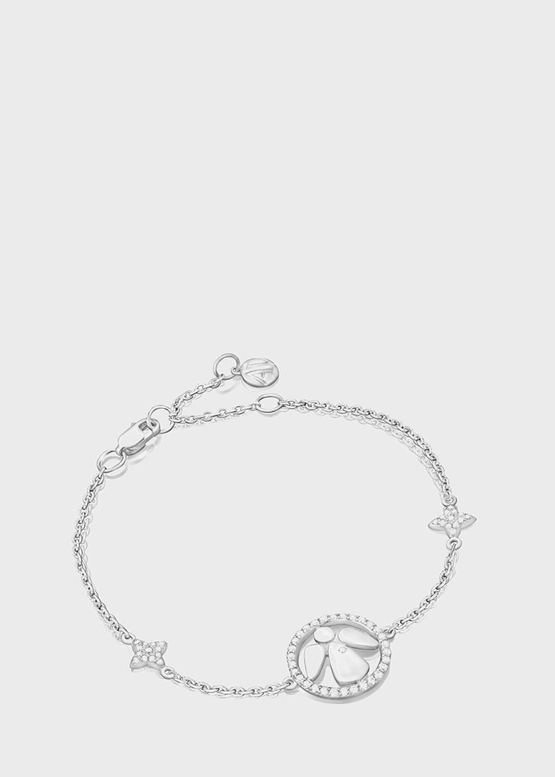 Браслет Art Vivace Jewelry Bу my angel с бриллиантами