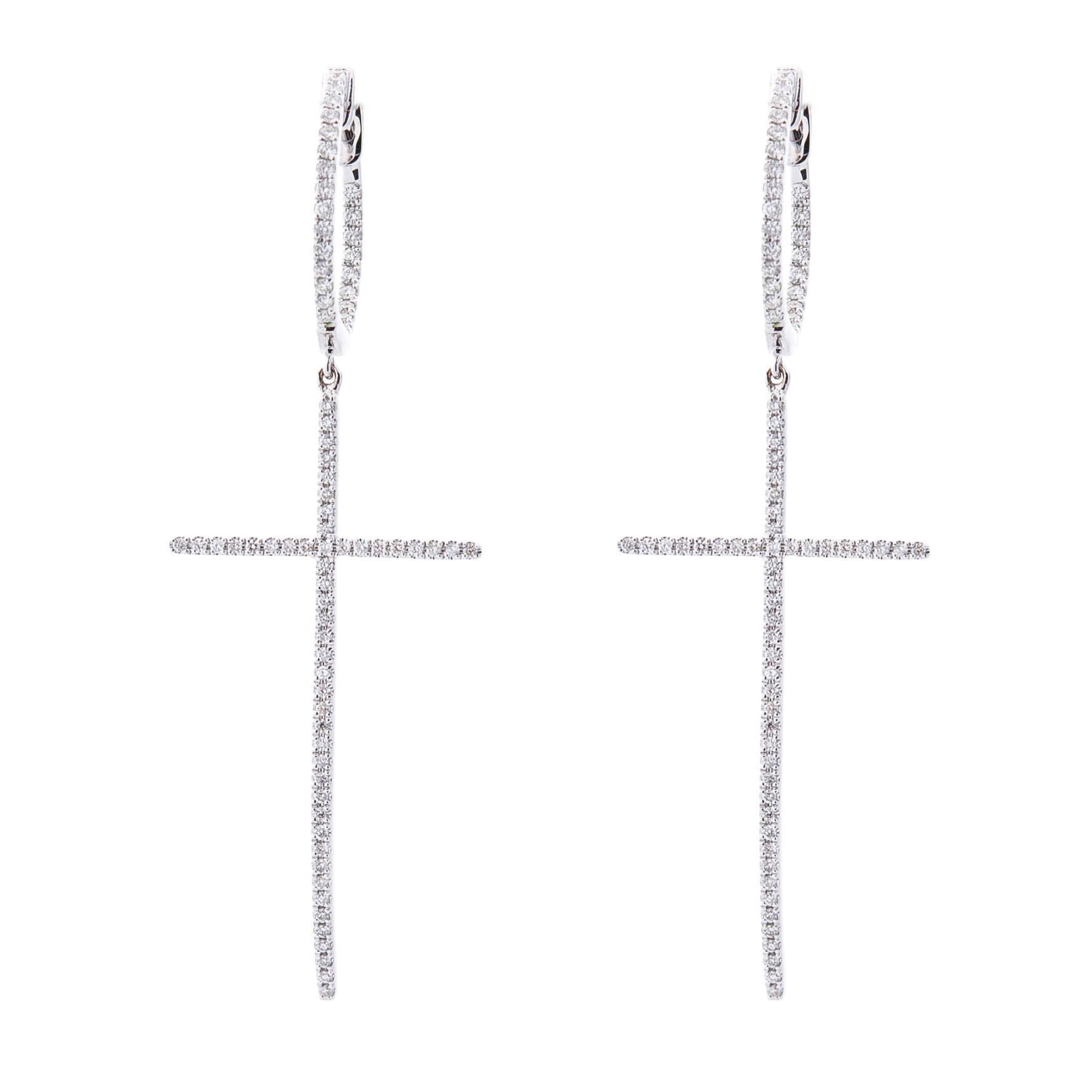 Золотые длинные серьги Оникс с бриллиантами