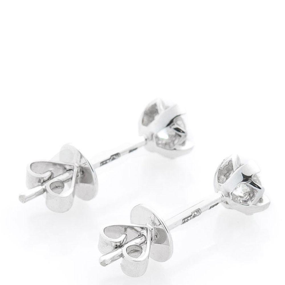 Серьги-пусеты Оникс золотые с бриллиантами