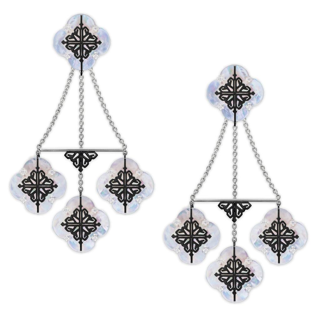 Объемные серьги Cava.cool Luxury Kit из серебра