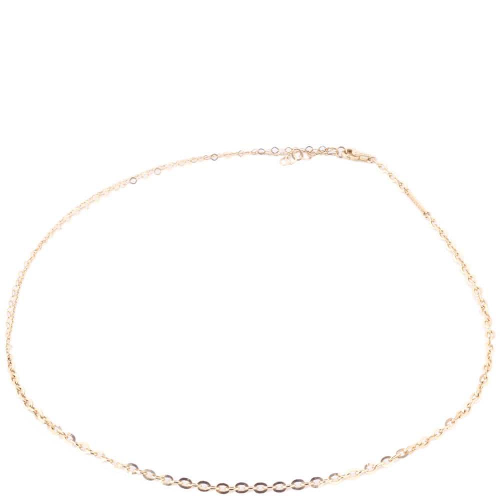 Золотая цепь Roberto Bravo с якорным плетением