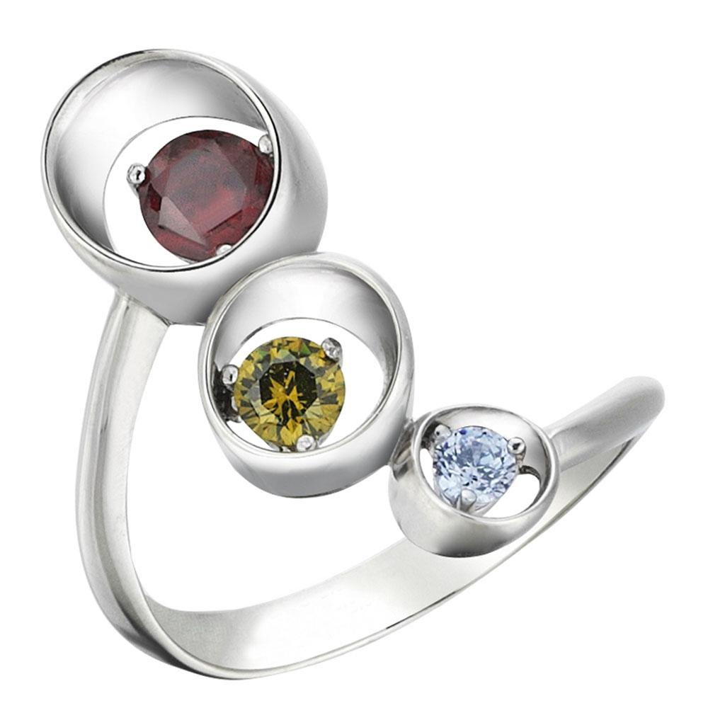 Серебряное кольцо 935 by Roberto Bravo с кварцем