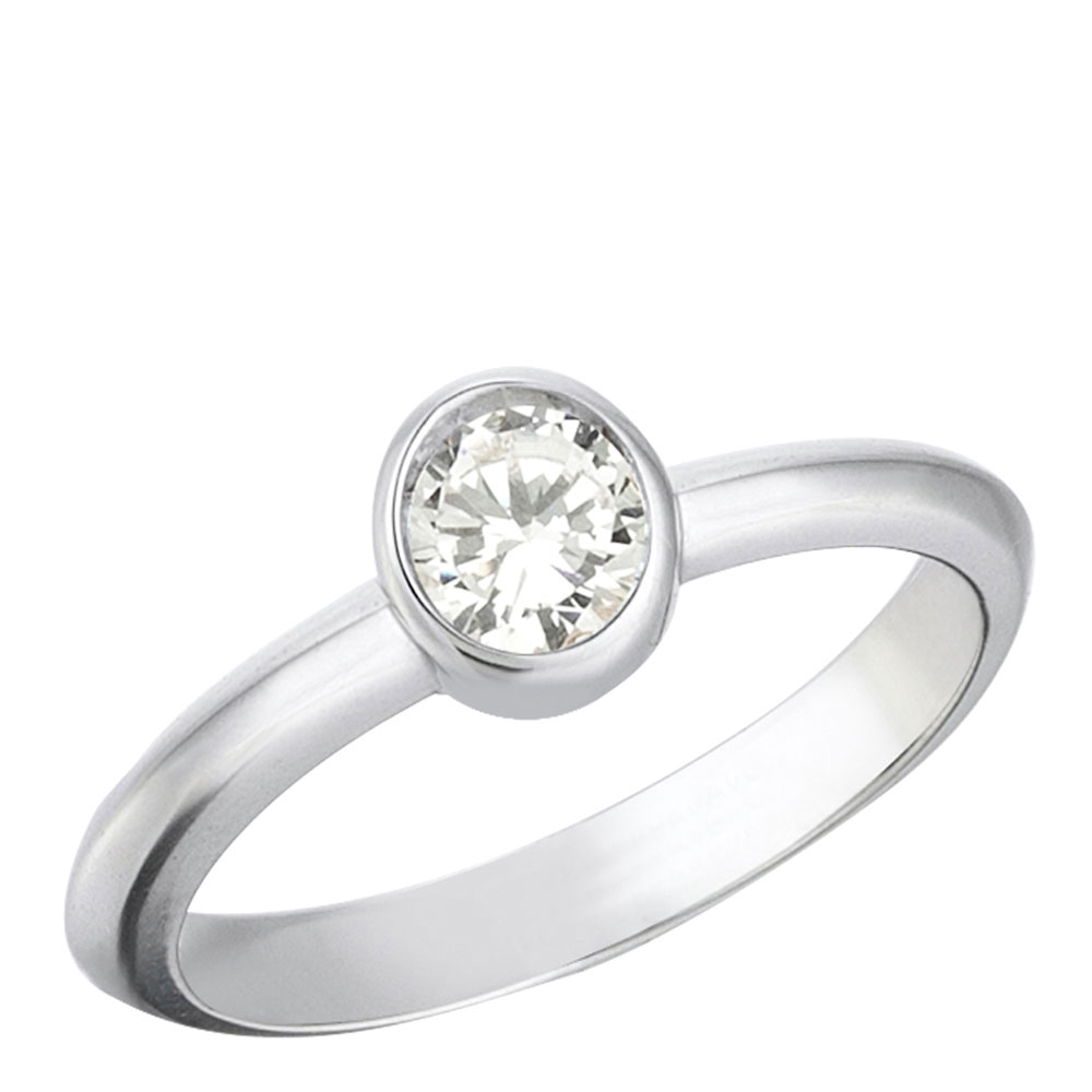 Серебряное кольцо 935 by Roberto Bravo с кварцем белого цвета