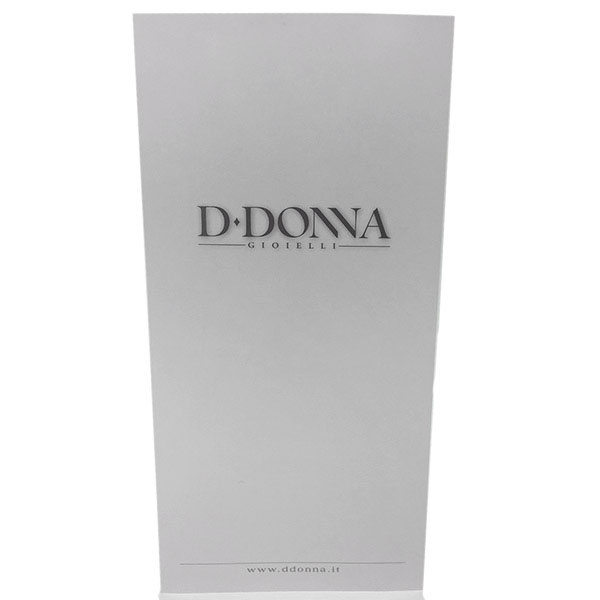Кулон D-Donna Ruggero Broggian Crystal из белого золота с бриллиантами изумрудом и топазом