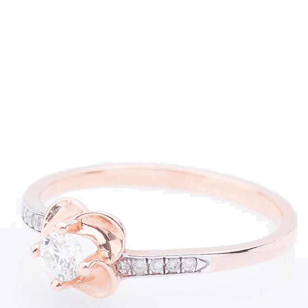 Женское кольцо Оникс с белыми бриллиантами