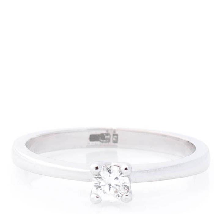 Кольцо из белого золота Оникс с бриллиантом