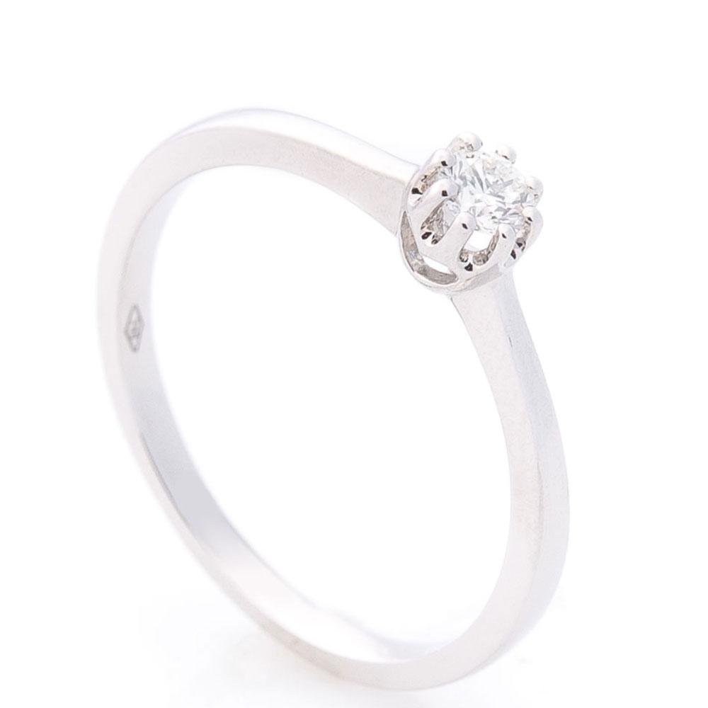 Кольцо помолвочное Оникс с бриллиантом