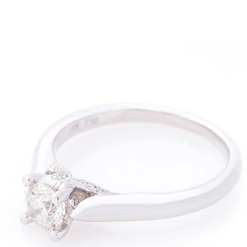 Кольцо помолвочное Оникс с бриллиантами